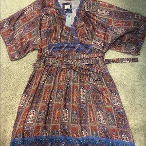 Anthropologie Dresses - Anthropologie Okinawa Kimono Dress - NWT Petite S